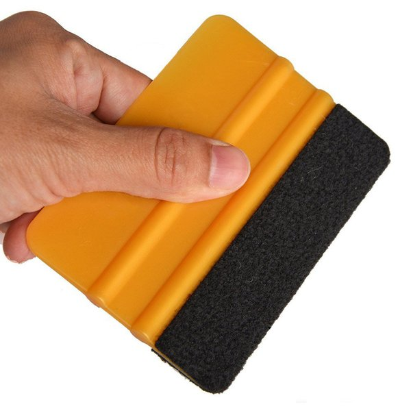 Felt Squeegee Car Household Cleaning Tools Vinyl Cleaner Carbon Fiber Car Foil Vinyl Film Wrap Window Tints Tools