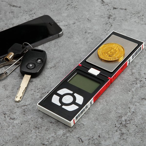 Accurate portable pocket mini jewelry electronic scale 0.01 g 0.1 g tea gold cigarette box scale wholesale