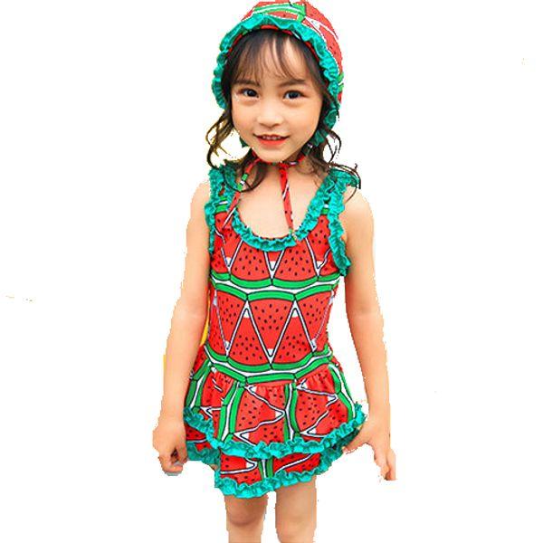 84ba3461c 2019 Baby Girl Swimsuit Children Swimming Watermelon Strawberry ...