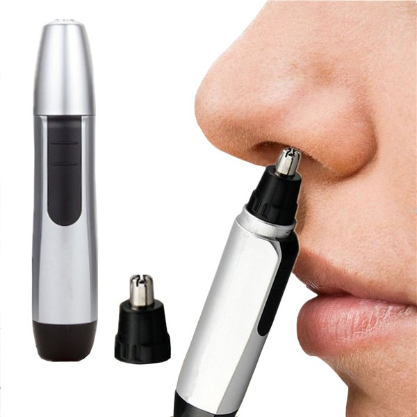 Pocket Mini handheld Electric Nose Ear Hair Trimmer Hair Removal Face Shaver Clipper Cleaner Facial Care Tool for Men Women