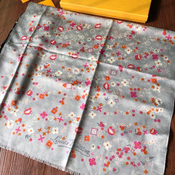 Luxury Women Monogram Autumn Warm Pashmina France Paris Brand L Logo Cruise Series Blanket Shawls Poncho Stole Joker Big Pashminas Cashmere