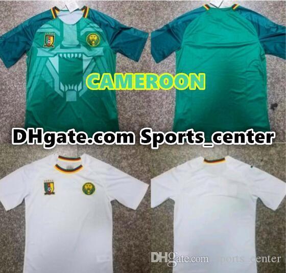 Melhor qualidade 18 19 Edição Camarões Soccer Jersey 2018 Camarões Camisa  de futebol de casa seleção 3f6b554a4bae5