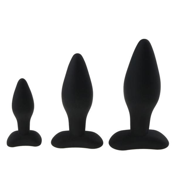 3 Dimensioni Anale Plug Butt Butt in silicone grande enorme anale perline giocattoli del sesso per le donne spina anale unisex giocattoli erotici prodotti del sesso per gli uomini D18111502