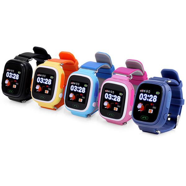 GPS Q90 Smartwatch Touchscreen WIFI Positionierung Kinder Smart Armbanduhr Locator PK Q50 Q60 Q80 für Kid Safe Anti-Lost