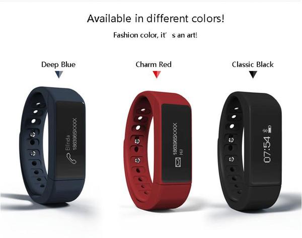 Original I5 Plus Smart Watch pulsera IP67 a prueba de agua Bluetooth Salud Pulsera Pantalla táctil Smart Wristband para Android IOS