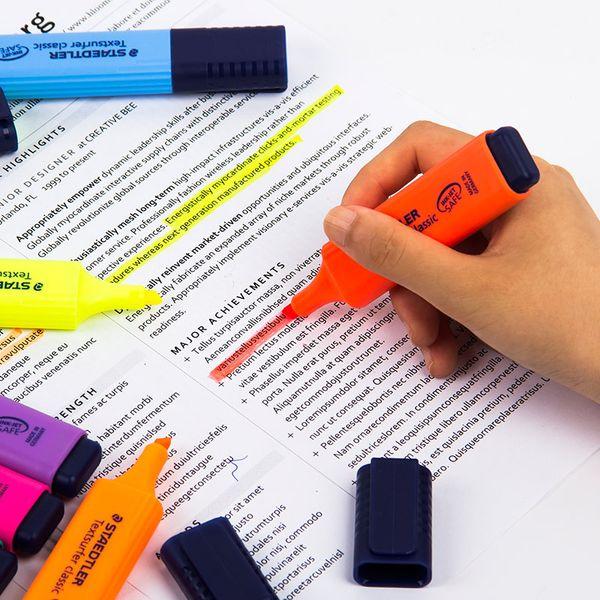Флуоресцентная ручка маркер выделения маркера красочные конфеты детям подарок студентам офисные ручки поставки