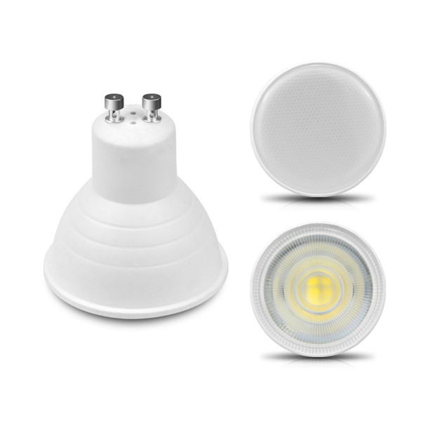 Faretto LED Lampadina GU10 MR16 6W 220V 230V LED COB Chip 24 Faretto da 120 Gradi LED Lampada Per Lampada da Tavolo Downlight