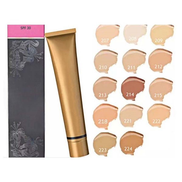 Waterproof Face Liquid Concealer Makeup Extreme Cover Foundation Cream Make Up Cover Limited Version Cosmetic Concealer Foundation 14 colors