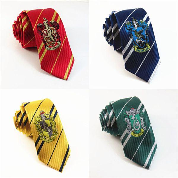 double coupon garantie de haute qualité rechercher le dernier Acheter Harry Potter Cravates Cravate Serpentard Gryffondor Cravates  Cravate Pouffsouffle Poufsouffle École De Poudlard Cravate Costume Cravate  De ...