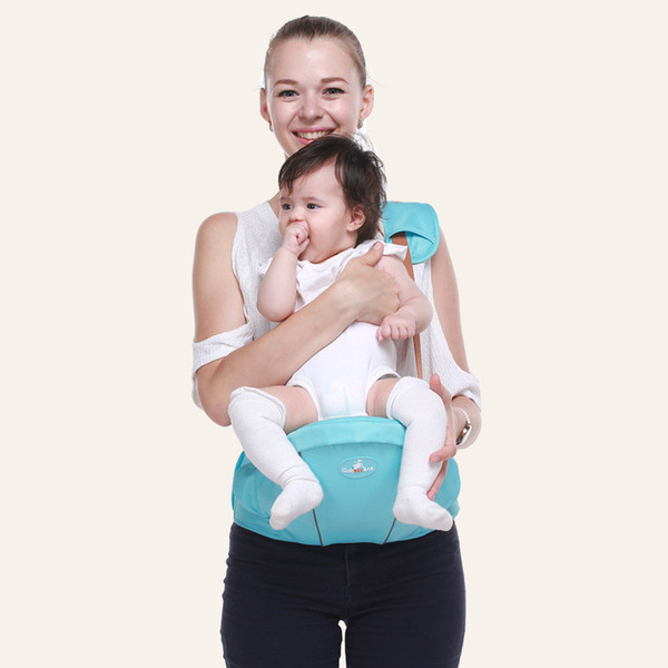 New 3-36 Months Baby Carrier Baby Hipseat With Belt Sling Breathable Ergonomic Backpack Kids Infant Hip Seat Single-shoulder Waist Stool