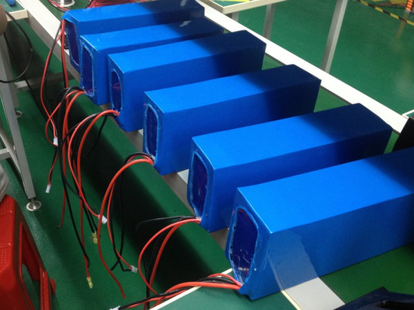 EU US AU Free Shipping Lithium ion 36V 20AH Battery 36V Electric Bicycle Battery 500W with BMS and 42V 2A charger