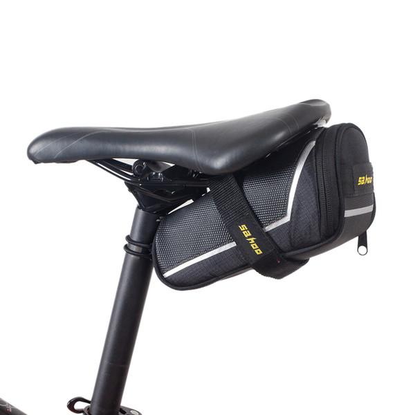 Kit di riparazione pneumatici pneumatici per bici bici SAHOO Kit di attrezzi per pneumatici pompa pneumatici per bici 7 in 1 Multi-tool in Accessori per biciclette Borse da sella