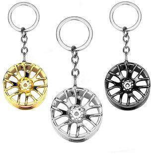 Creative gift cart, wheel key, buckle, pendant, promotion, auto accessory, key buckle