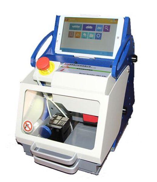 100% Original DHL free shiping TOP Quality Full-Automatic Car Key Cutting Machine SEC-E9z CNC automatic key cutting machine Multi Language