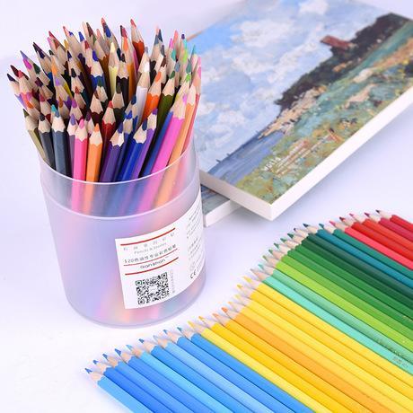 top popular 120 Oily Color Lead Non Water Soluble Color Pencil Painting Sketch Color Drawing Brush Lapis De Cor Prismacolor Colored Pencils 2020