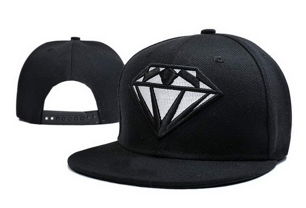 Fashion Hood By Air Snapback Diamonds Caps & Hats Snapbacks Diamond Snap Back Hat Men Women Baseball Cap Cheap Sale