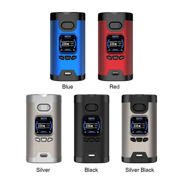 100% Original HCigar Wildwolf 235W TC VW APV Box Mod Overheating Protection Comes with 1.3 inch TFT High-definition Display Screen