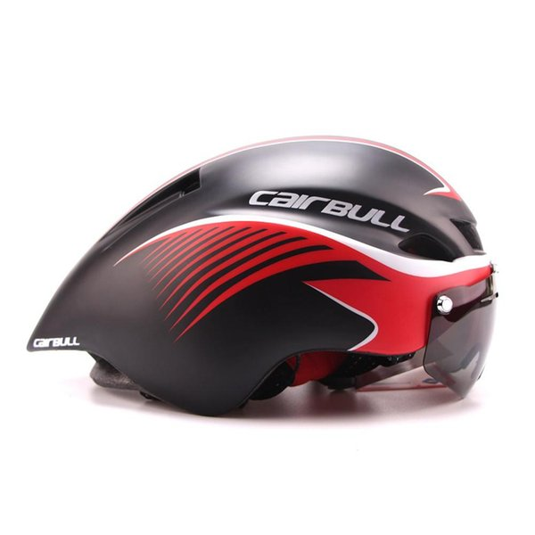 New290g Aero Road Bicycle Helmet Goggles Racing Cycling Bike Sports Safety Helmet In-mold Road Bike Cycling Goggle