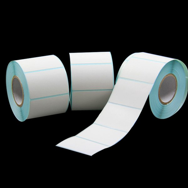 700pcs/roll Direct Thermal Label Roll Supermarket Price Tags Blank Label Direct Print Waterproof Packing Seal Label Sticker