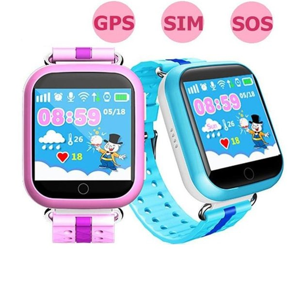 Q750 Smart Wirstband with WiFi GPS AGPS LBS BDS for iPhone Android Phone Child Kid Smart Watch Call Location Wearable Device For Safety