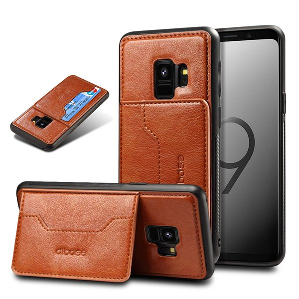 best selling 2 In 1 Hybrid PU Leather Case Card Slot Kickstand Holder Cover For iPhone XR XS Max X 7 8 Samsung Note 9Huawei P20 Pro Lite Oneplus OPP