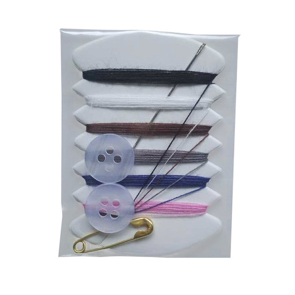 Hand Sewing Bag Mini Portable Sewing Kit Needle Thread Button Pin Travel Household Tools for Travel Hotel Supplies