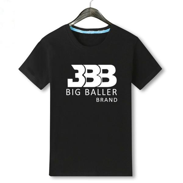 Lonzo Jersey No. 2 T-shirt Ballon Basket-ball Homme Chemise D'été Ronde pour les hommes de coton