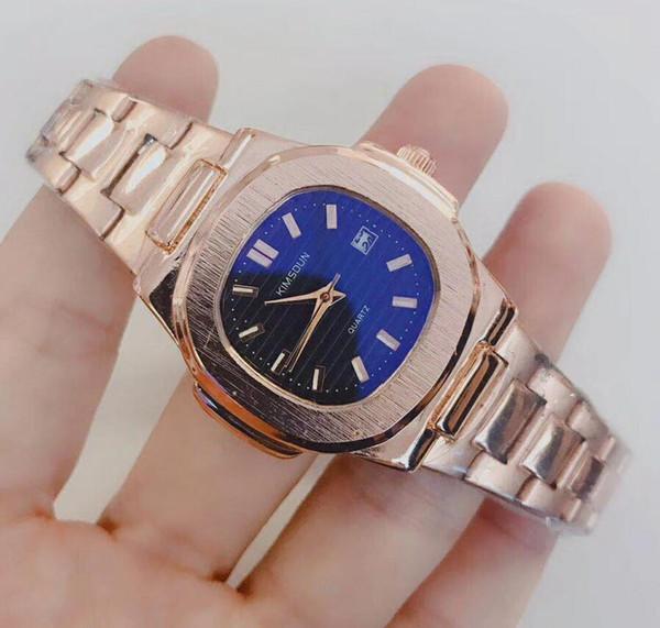 Relógio ocasional Famosa Marca de Quartzo-Relógio Das Mulheres Banda Relógios de Pulso Relojes Montre Homme Erkek Kol Relógio De Pulso C2