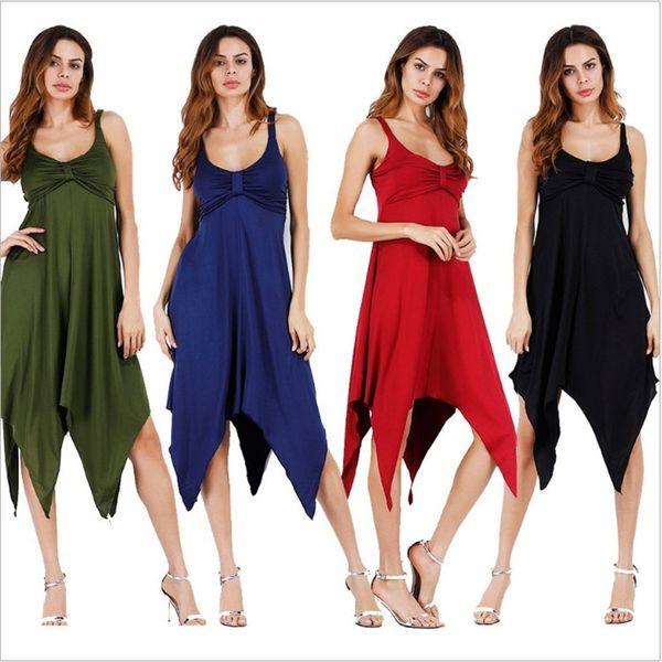 Mizaç kadın Yeni Moda Ince Seksi Örgün Akşam Elbise Düzensiz Sling Backless Etek Parti Maxi Elbiseler Akşam elbise Sonbahar Kış