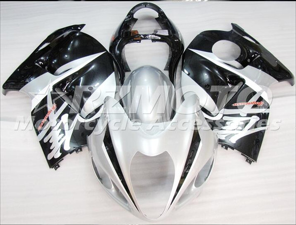 New Hot ABS Plastic motorbike Fairing Kits 100% Fit For suzuki GSXR1300 97 98 99 0107 Hayabusa 1997 1998 2007 GSX-R1300 Black White F33