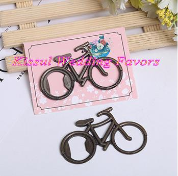 (20 Pieces/lot) Unique Wedding decoration gift of Antique Bicycle Bottle Opener bridal shower Party favors and table decorations