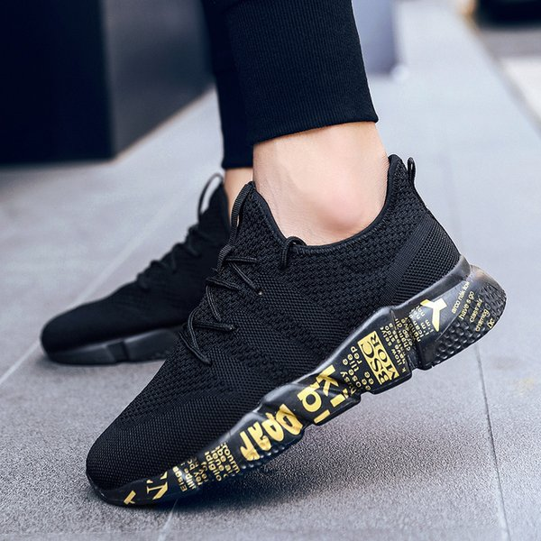 Comfortable Casual Shoes fashion Zapatos Male Footwear Ultralight Lace-up Soft adult Leisure shoes Breathable sneakser