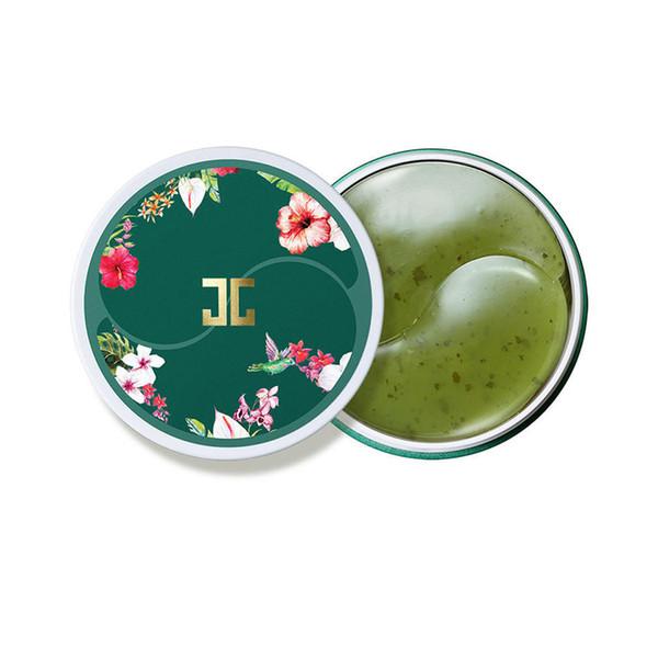 Corea cosméticos JayJun té verde gel de ojos mascarilla parche 60 unids / caja mascarilla para los ojos hidratar bolsas para los ojos círculos oscuros cuidado facial almohadillas
