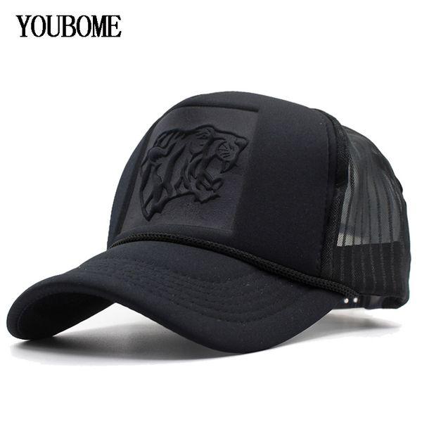 YOUBOME Baseball Cap Women Brand Black Snapback Caps Men Hats For Men Mesh Summer Hip hop Casquette Bone Summer MaLe Dad Cap Hat
