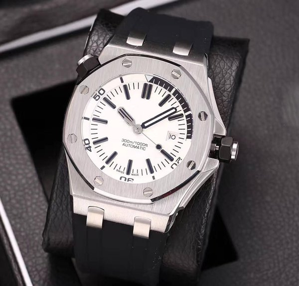 Big Sell luxury brand watch men Open back 42mm Automatic machinery watch False watch oaks aaa clock AAA sweeping movement watches 82