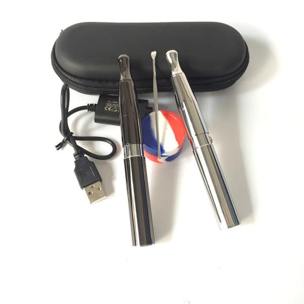 Vape Pen Wax Vaporizador Puffco Frigideira 2 Cera Fumando Ego Starter Kit Com 650 mAh Bateria