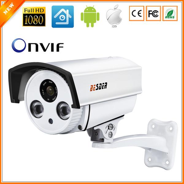 BESDER Auto Zoom 4X Motorized Lens 2.8mm-12mm CCTV Camera Full HD 1080P 2MP HI3516C SONY IMX322 ONVIF IP Camera 12V 48V PoE
