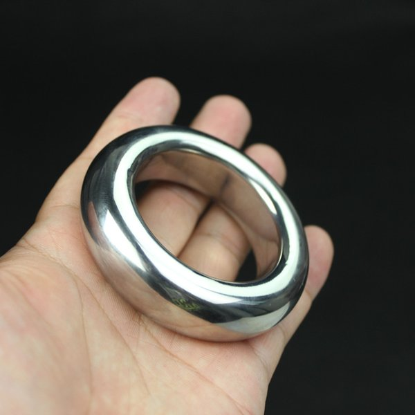 New Stainless Steel Scrotum Pendant Penis Cock Ring Chastity Cage Restraint Scrotum Pendant Testicle Cock Ring,Sex Toys for Men B2-2-78