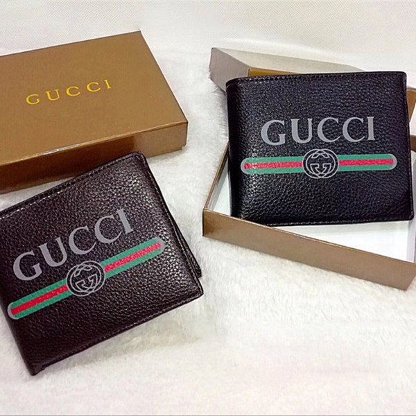 c6874a94923 AAA+ Top Quality Luxury Designer Classic Famous Men Women Famous Genuine  Leather Credit Card Holder Mini