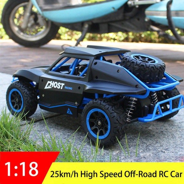 2.4GHz RC Car 1:18 High Speed Off-road Drift Buggy Radio Remote Control Racing Car Model Rock Crawler Vehicle Toys for Kids Boy