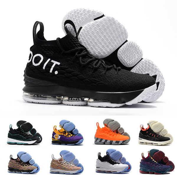 hot sales 315c0 a8743 New Griffey Lebron James 15 Lakers Purple Rain Diamond Turf Men Basketball  Shoes Lebrons 15s Equality Mens Xv Casual Trainer Sports Sneakers Hiking ...