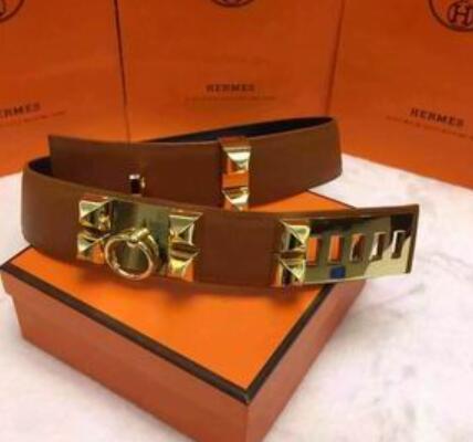 models double-sided imported leather 5CM H1542 brown plain ADJUSTABLE GANCINI REVERSIBLE VARA BUCKLE BELT Official Men Belts