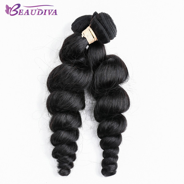 Malaysian 8A Unprocessed Virgin Hair 2 Pcs Hair Weave Bundles No Shedding&Tangle 100% Human Hair Bundles Free Shipping Loose Wave