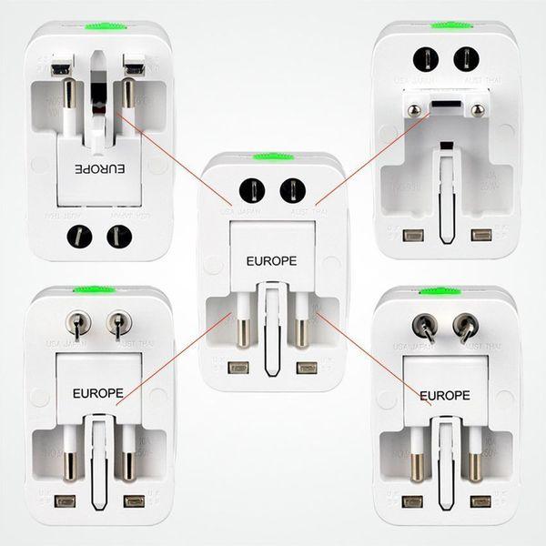 Global Travel Abroad Conversion Socket Plugs Adapter Multifunction Universal US/AU/EU/UK Plug Travel Power Socket Converter 50pcs/lot