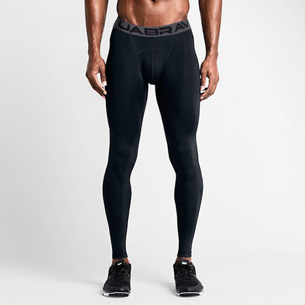best selling Men Running Tights Jogging Sports Leggings GYM Fitness Wear Elastic Athletics Quick-Drying Clothing