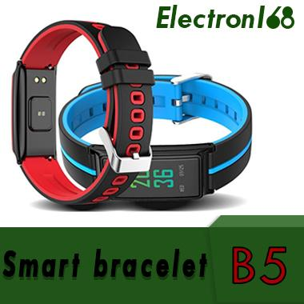 B5 Pulsmesser Bluetooth SmartWatch Band Touchscreen Armband Armband Fitness Tracker Pedometor Für Andorid IOS Armband 20 stücke