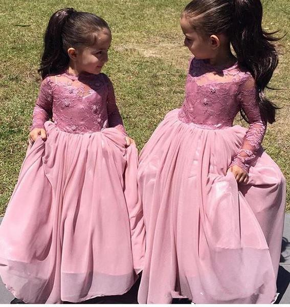 Compre Vestidos Largos Del Desfile De Las Muchachas De La Manga ...
