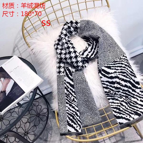Luxe Hiver Cachemire Écharpe Pashmina Pour Les Femmes Marque Designer écharpe chaude Mode Femmes imitent Cachemire Laine Long Châle Wrap 180x70cm