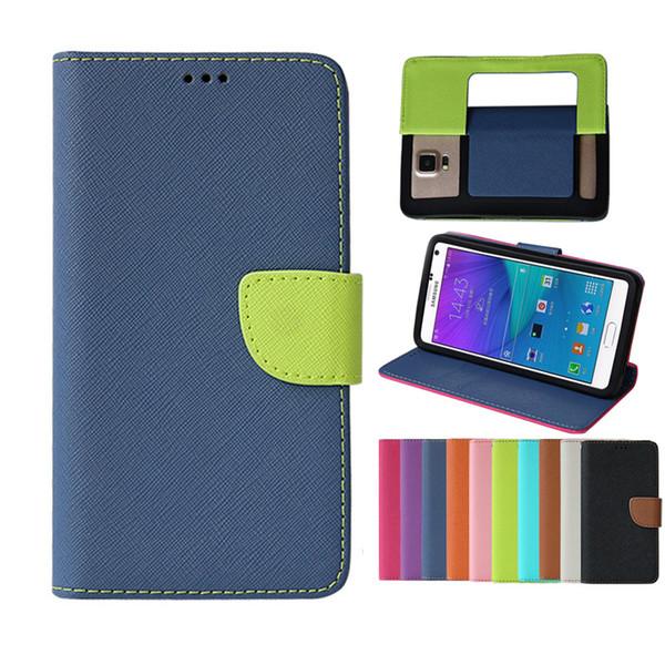 Custodia Universale Custodia in pelle PU Flip Belt Cover Case 3.5-6 pollici per iPhone 7 8 X Samsung A6 A8 Xiaomi Huawe