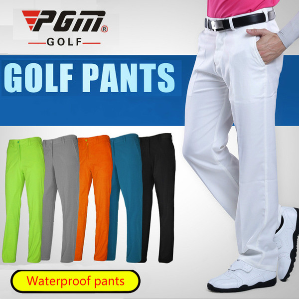 Golf Pants Clothing Waterproof Golf Trousers For Men Quick Dry Summer Breathable Thin Pants Plus Size XXS-XXXL Apparel 2018